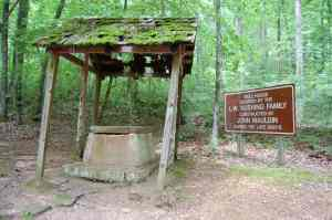 The well at the cabin
