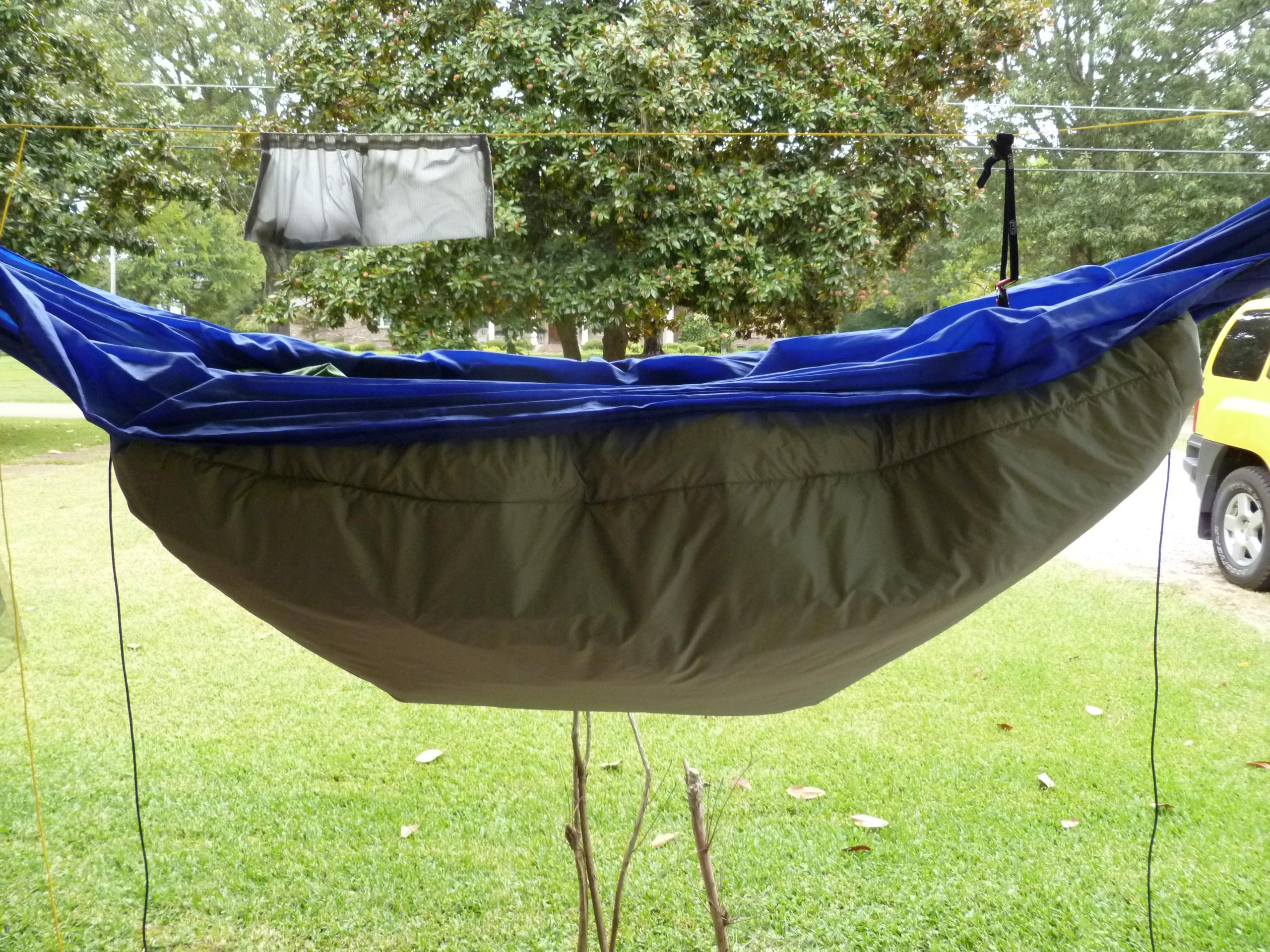diy hammock underquilt diy underquilt stick s