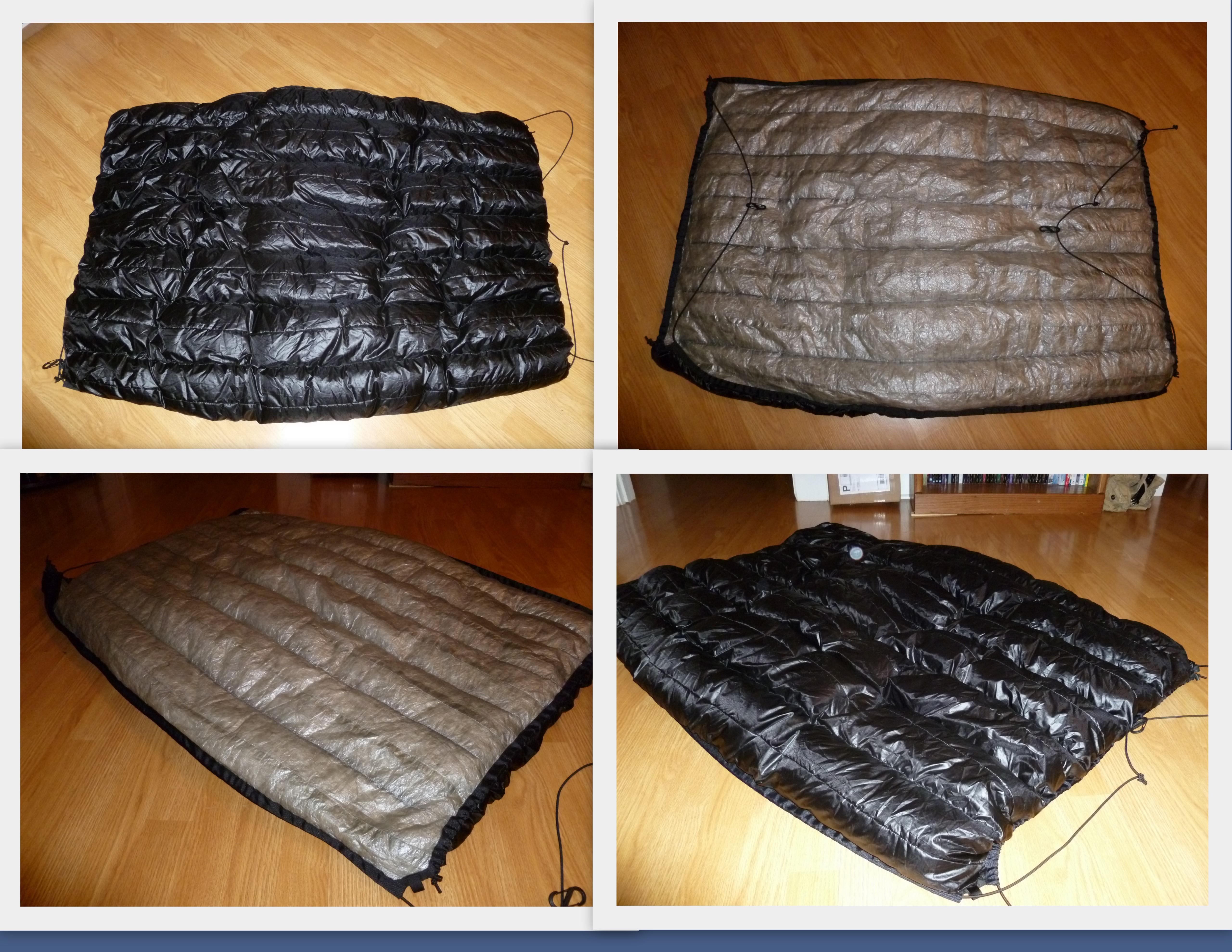as     first look  hammock gear 20 f phoenix cuben fiber underquilt      rh   sticksblog