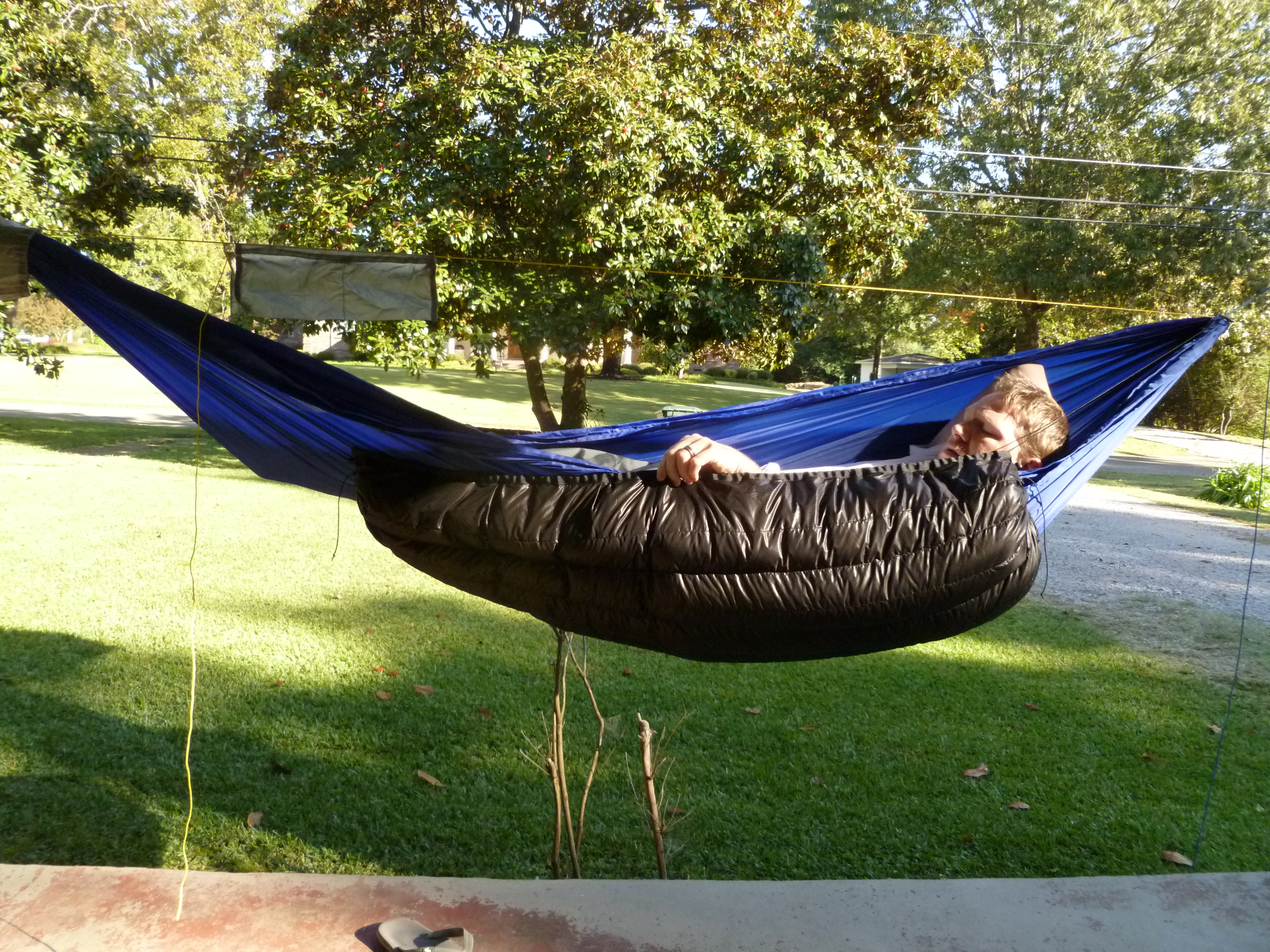 Hammock Gear Custom 20 F Phoenix Under Quilt Sticks Blog