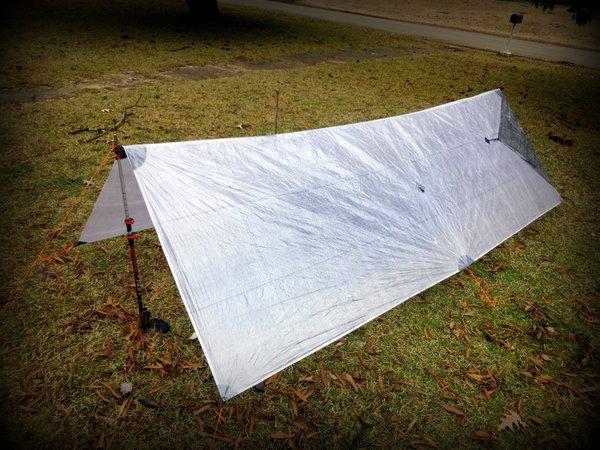 p1010155 zpacks 6 5 x 10 cuben fiber flat tarp   stick u0027s blog  rh   sticksblog